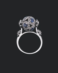 Louis Vuitton's Sphere ring.
