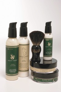 Maine Shave items.