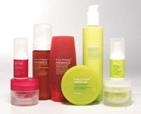 Products from the Radiance, Defense and Anti-Age lines.