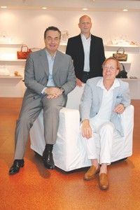 Clockwise: John Truex, Richard Lambertson and Marcello Bottoli.