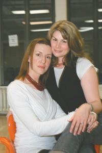 Susan Blackwell and Heidi Blickenstaff