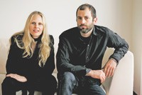 Helmut Lang's Nicole and Michael Colovos.