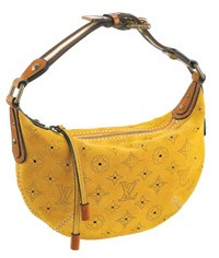 Suede handbags were hot sellers for Louis Vuitton.