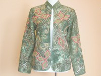 Jackets from Indigo Moon's less expensive line.