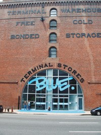The Terminal Stores, site of the trade show Blue.