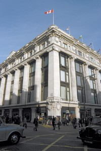 The Selfridges flagship in London.