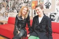 Kari Sigerson and Miranda Morrison.