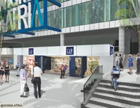 A rendering of the Gap in the Wisma Atria shopping center on Orchard Road, the Fifth Avenue of Singapore.