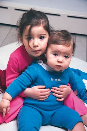 House of Mai children's wear features cashmere tops, pants and onesies.