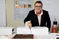 Alber Elbaz at Texprint.