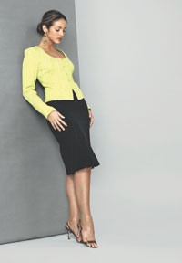 A fall look from GarfieldMarks, which Rousse Apparel Group now manages.