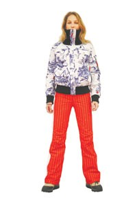 A winter look from Rossignol.
