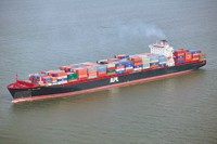 New ships entering service can carry between 5,00 and 9,600 containers.