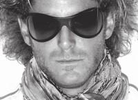 Lapo Elkann in the new sunglasses.