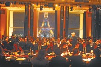 The scene at Palais de Chaillot Monday night, where Clive Owen was introduced.