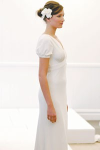 A look from J. Crew's bridal collection.