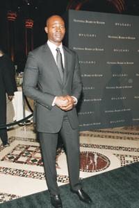 Djimon Hounsou in Gucci.
