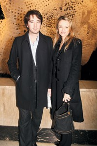 Antoine and Delphine Arnault
