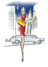 DHL will be a sponsor of Mercedes-Benz Fashion Week.