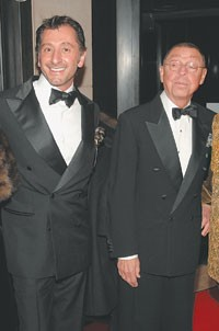 Ralph Rucci with James Galanos.