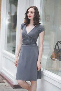 A best-selling wrap dress from Lilla P.'s summer line.