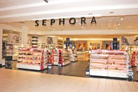 The Sephora unit in J.C. Penney's Fort Worth store.