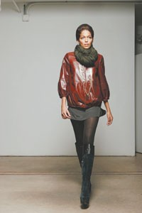 A look from Geren Ford's fall collection.