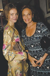 Natalia Vodianova and Diane von Furstenberg