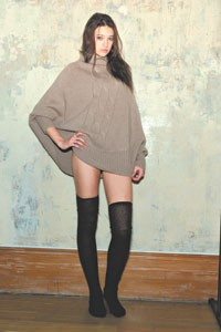 YaYa's cashmere and wool sweater.