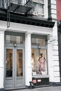 The Nicole Miller store in New York's SoHo neighborhood.