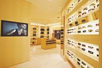 Inside the Bulgari accessories store in Milan.