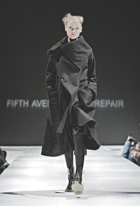 A look by Fifth Avenue Shoe Repair.