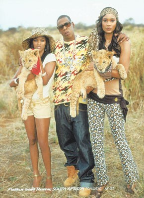 Jay-Z in a recent Rocawear ad.