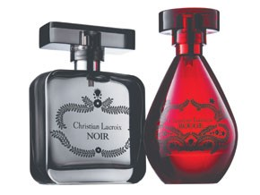 Avon's new Christian Lacroix fragrances.