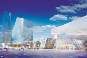 Taubman Asia partnered with Korean developers for the $25 billion New Songdo City project in South Korea.