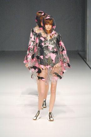 A look from the runway at Hong Kong Fashion Week.
