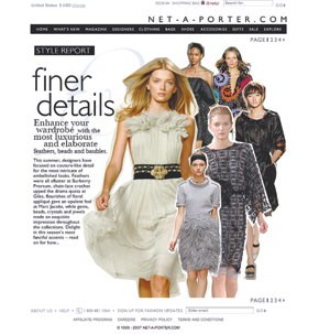 A strong point of view sets Net-a-porter apart from other luxury e-tailers, said founder Natalie Massenet.