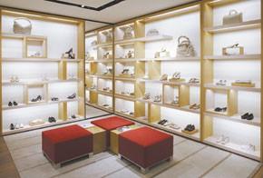 The Louis Vuitton Rome store.