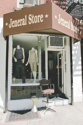 Jeneral Store is located at 203 West 19th Street.