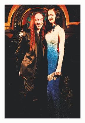 John Galliano and Eva Green