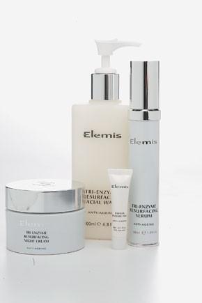 Select new Elemis items.