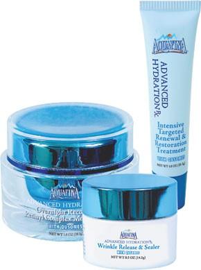 Aquafina Advanced Hydration Rx products.