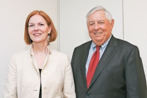 Lynne Greene and Bill Dillard