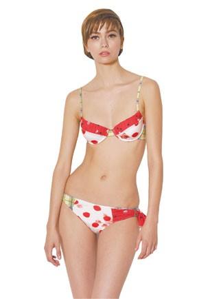 A John Galliano swimwear look.