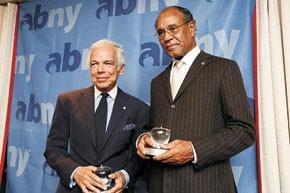 Ralph Lauren and Dr. Harold Freeman