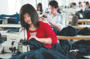 Labor shortages across China have led to wage hikes.