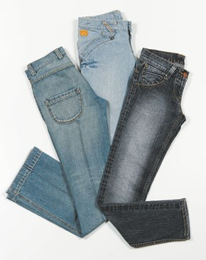 Styles from the new Bulga denim collection.