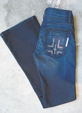 Bishop of Seventh's Iced Jeans.