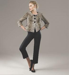 Milly's cheetah-print jacket at Bergdorf Goodman.