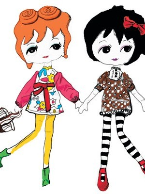 Happy and Hank dolls by Henri Bendel
